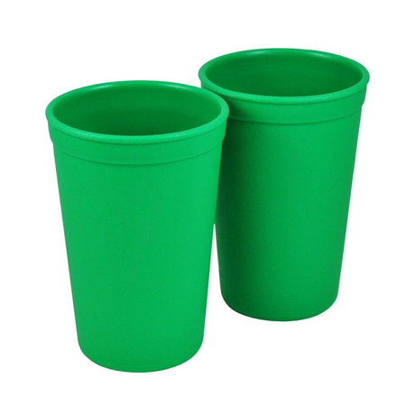 Re-Play Kinder Trinkbecher aus Recyclingmaterial, Kelly Green