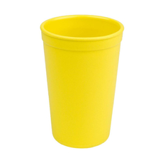 Re-Play Kinder Trinkbecher aus Recyclingmaterial, Yellow
