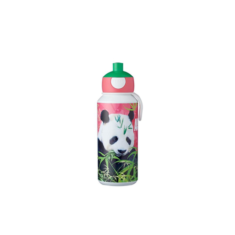 Mepal Pausenset Campus (Trinkflasche und Brotdose), Animal Planet Panda