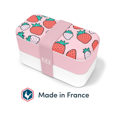 Monbento Bento Box Original graphic Strawberry –...