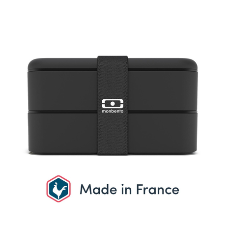 Monbento Bento Box Original Black Onyx – Made in France
