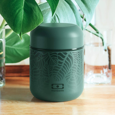 Monbento Edelstahl Thermo-Lunchbox Capsule graphic Jungle