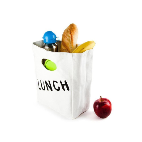 FLUF Lunchbag Red Apple - Lunchtasche aus Bio Baumwolle