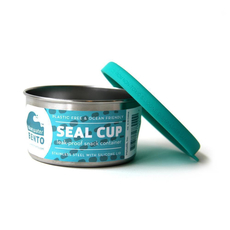 ECOlunchbox Seal Cup Solo, Runddose aus Edelstahl mit...